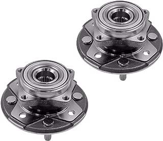 2 DTA Front Wheel Bearing Hub Full Assemblies NT513098G3...