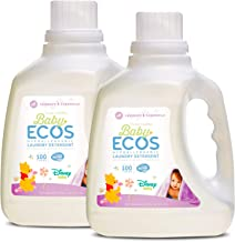 Earth Friendly Products Baby Ecos Disney Laundry Detergent, Lavender and Chamomile, 100 Fl Oz, (Pack of 2)
