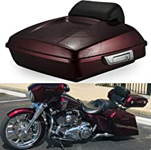 Moto Onfire Advanblack Mysterious Red Sunglo Razor Tour Pak Tour Pack Luggage Pad Fit for Harley Touring Street Glide Road Glide Special Electra Glide 2014 2015 2016 2017 2018 2019