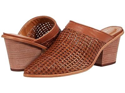 KAANAS Granada Basket Weave Mule Booties