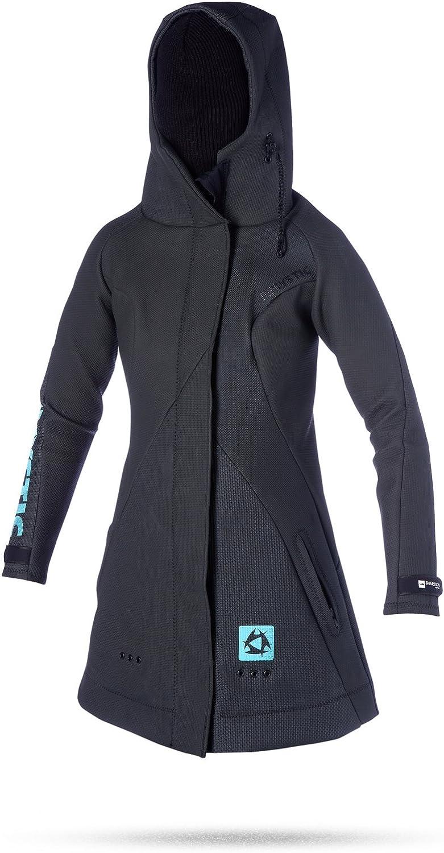 Mystic Womens Rez Team Neoprene Jacket in Black
