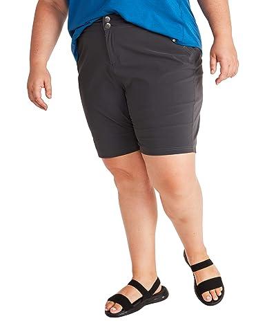 Marmot Plus Size Kodachrome Shorts (Dark Steel) Women