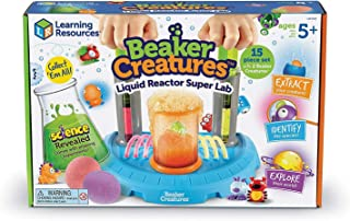 LEARNING RESOURCES' Beaker Creatures Liquid Reactor Lab For Kids - Multicolour