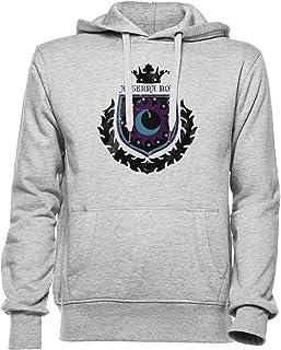New Lunar Republic Eternal Night Hombre Mujer Unisexo Sudadera con Capucha Gris Todos Los Tamaños - Women's Men's Unisex Hoodie Sweatshirt Grey
