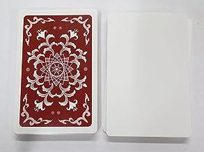 XTAROT 片面白紙カード56枚 【両面ニス】 ゲーム開発用 (茶)