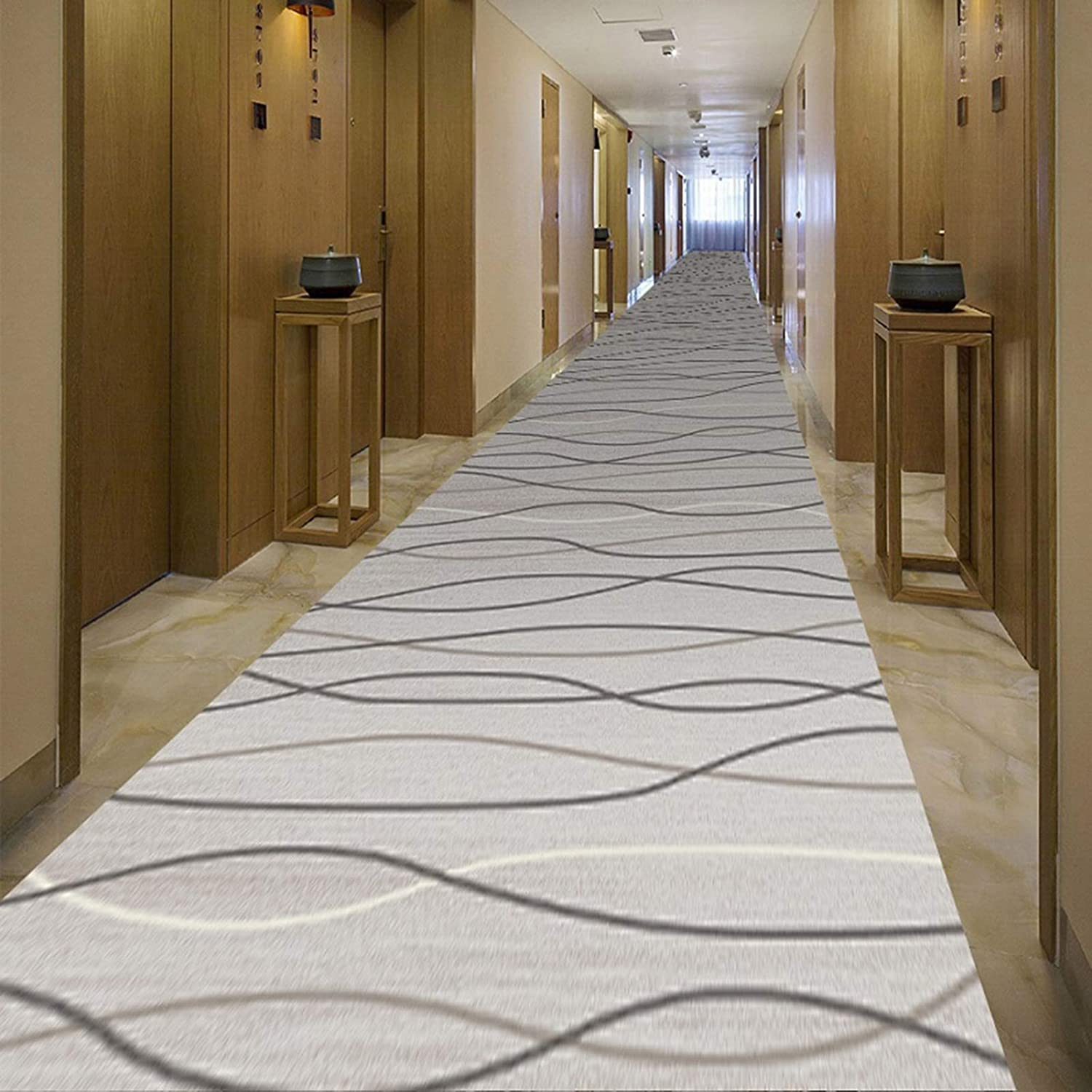 Runner Rug New sales Extra Long lowest price Hallway Modern Car Casual Gray