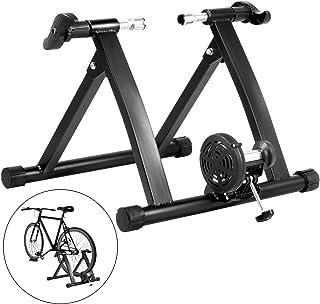 comprar comparacion Tecmaqui Rodillos para Bicicleta 330LBS Entrenador para Bicicleta en Interior 750W Resistencia Fluida Soporte Portátil par...