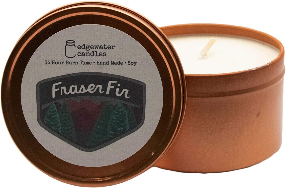 Edgewater Candles - Complete Free Shipping 6 lowest price oz. Fir Fraser Soy Travel Tin