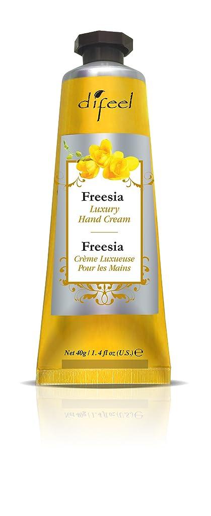 不名誉な収穫高さDifeel(ディフィール) フリージア ナチュラル ハンドクリーム 40g FREESIA 03FRSn New York