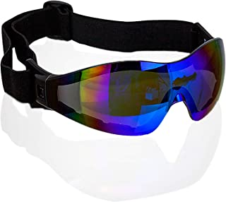 Safe Handler Mirage Blue Mirror Safety Goggles | UV Protected, Anti-Scratch, Anti-Fog, Outdoor Activity Wind Resistant Eye...