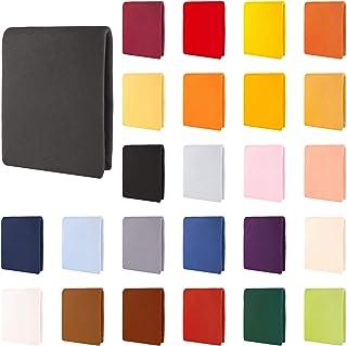 CelinaTex Aqua Drap-Housse, lit sommier tapissier, Lits à Eau, Coton, élasthanne 200x220-220x240 cm Anthracite