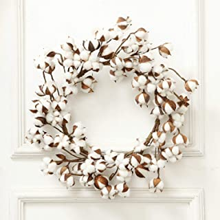 Best cotton wreath with burlap bow Reviews