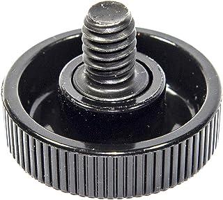 100pcs Nylon Plastic M5 x 16mm Thumb screws Knurled Slotted Thumb Screw Black