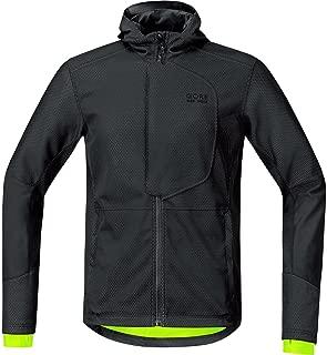 GORE BIKE WEAR Men's Soft Shell Urban Cycling Jacket, GORE WINDSTOPPER, URBAN WS SO, Jacket, Size L, Sulphur Yellow, JWMELE