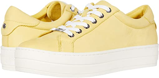 Yellow Waxy Nubuck