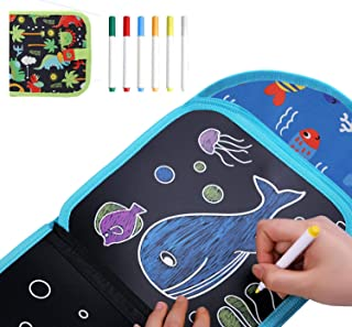 HULPPRE Drawing Pad Magic Erasable Writing Tablet Children's Toys Painting Book Doodle Board,Unleash Your kids' Creativit...