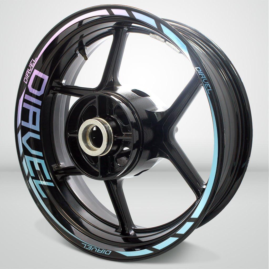 2 正規逆輸入品 Tone 新品未使用正規品 Amethyst Motorcycle Rim For Decal Sticker Accessory Wheel