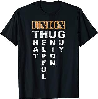 Union Thug | Pro-Union Worker | Labor Union Protest Shirt