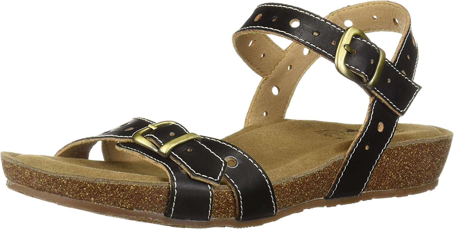 L'Artiste by Spring Step Womens Technic Flat Sandal