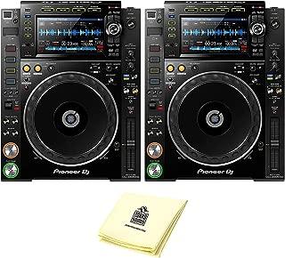 Pioneer DJ CDJ-2000NXS2 Professional Multi Player DJ CD Player or Media Player (PAIR) with 7