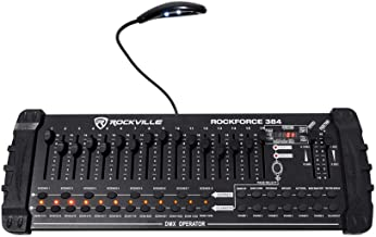 Rockville ROCKFORCE 384 Channel Light/Fog DMX Lighting Controller + MIDI Control