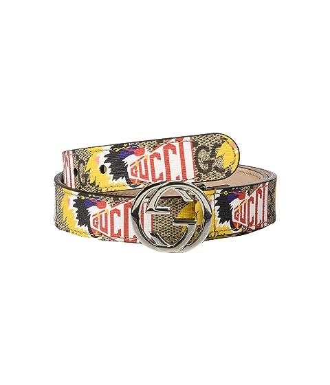 Gucci Kids GG Belt 25839595J0N (Little Kids/Big Kids)
