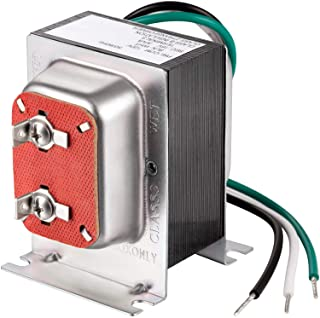 Transformador de Timbre de Puerta 16V 30VA, Transformador de Campana de Puerta Cableado, Compatible con Ring Video Doorbel...