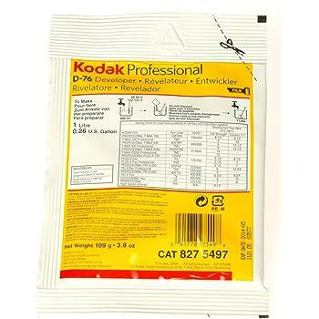 Kodak ケミカル デベロッパー D-76 1リットル用 (粉末) 8275497