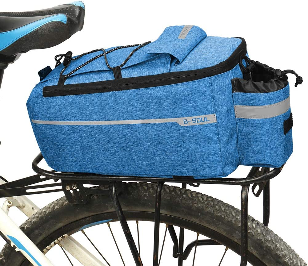 Balems SEAL limited product Bicycle unisex Saddle Bags for Trunk Cooler Insulated Rack Rear