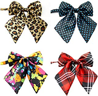 Ez-sofei Girls School Uniform Bow Ties Cosplay Accessory (Pack of 4)