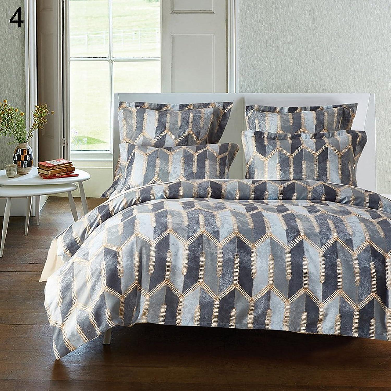 YanQxIzbiu Bed Comforter Set European Style Bedding Set Twin Duvet Cover + Pillow Case Home Bedroom Decor 4  Twin