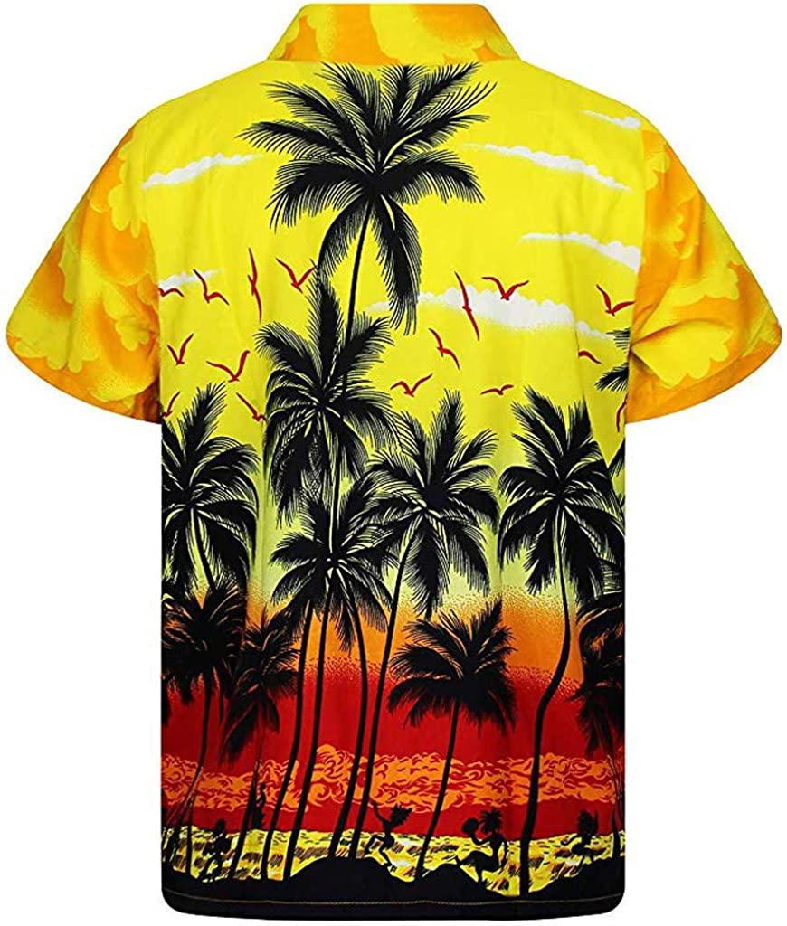 Men Shirt Cheap mail order specialty store Clearance F_Gotal Men's Summer Hawaii Sale item T-Shirts Print
