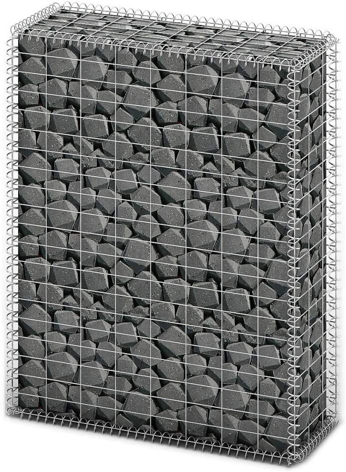 Gabion Basket with shopping quality assurance Lids Wire Planter Galvanized