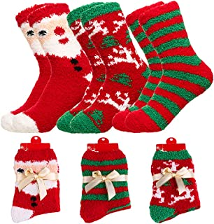 Womens Super Thick Wool Socks - Soft Warm Comfort Casual Crew Winter Socks (Pack of 3/5), Multicolor