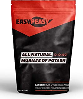 All-Natural Muriate of Potash- Easy Peasy 0-0-60 Potassium (20lb)