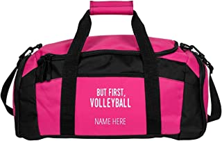Personalized Volleyball Duffle Bag: Gym Duffel Bag