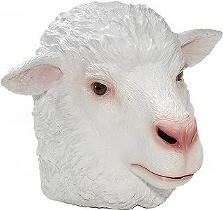 Men's Adult Latex Sheep Mask