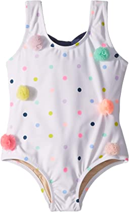 Pom-Pom Dot One-Piece (Infant/Toddler)