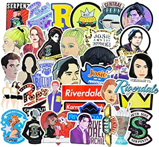 Riverdale Stickers Decals for Phone Waterproof Water Bottles Car Lpatop Skateboard Stickers 35pcs Pack