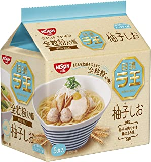 Nissin - Raoh Japanese Instant Ramen Yuzu Salt Soup Noodles (For 5 Servings)