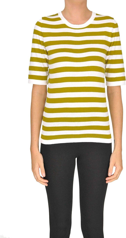 Happy Sheep Women's MCGLMGP000005043E Green Cotton Sweatshirt