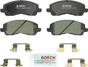 Bosch BC721 QuietCast Premium Ceramic Disc Brake Pad Set For Subaru: 1998-2002 Forester, 1998-2002 Impreza, 1997-2001 Legacy, 2000-2001 Outback; Front