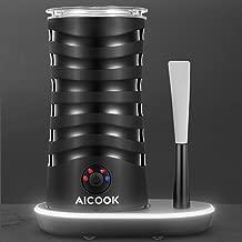 Aicook Espumador/Batidor de Leche, 4 En 1 Espumador para