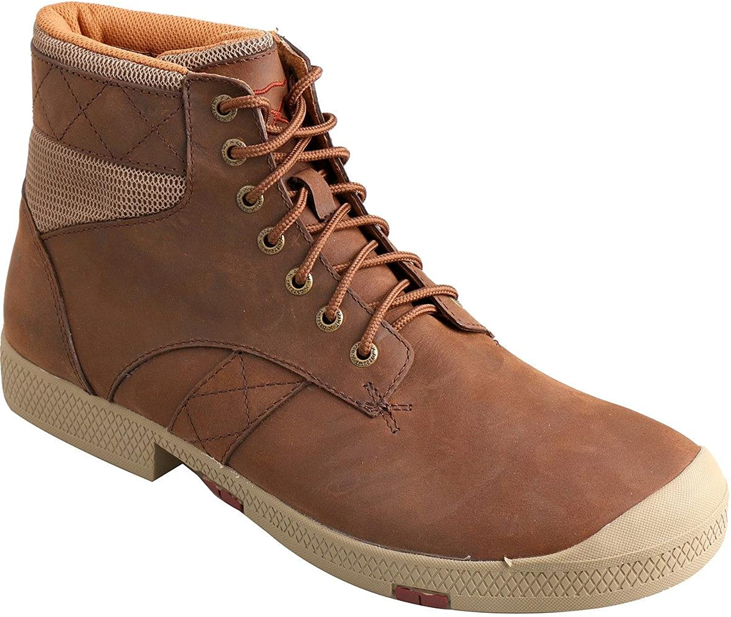 Twisted X Casual shoes Mens Lace Up Driving Moc Crazy Horse MCA0009
