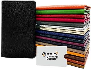Charmoni - Portefeuille Etui Pochette Porte Papier Voiture 3 Plis + étui Anti PIRATAGE RFID - Carte Grise permis de Condui...