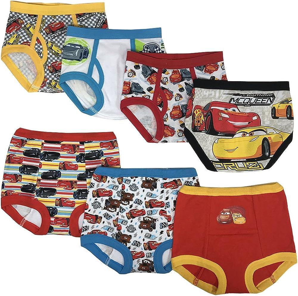 Disney Boys' Cars Potty Training Pant Multipacks