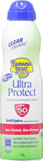 Banana Boat Ultra Protect Sunscsreen Lotion Spray SPF50 (170ml)