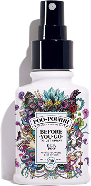 Poo Pourri Before You Go Toilet Spray 2 Oz Deja Poo Scent 2 Ounce