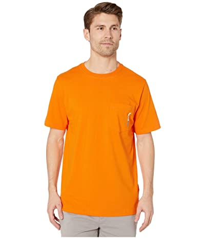 Timberland PRO Base Plate Blended Short Sleeve T-Shirt (Pro Orange) Men