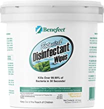 Sponsored Ad - Benefect Botanical Disinfectant Wipes - Kills Over 99.99% of Bacteria in 30 Seconds! 250 6